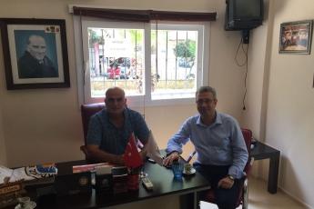 TurgutReis Mahallesi Muhtarı Ahmet ELDENİZ'i Ziyaretimiz