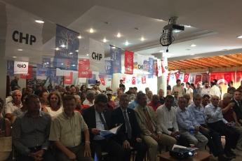 CHP Silifke İlçe Teşkilatı Danışma Kurulu Toplantısına Katılımımız