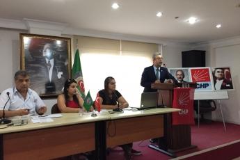 CHP Akdeniz İlçe Teşkilatı Danışma Kurulu Toplantısına Katılımımız