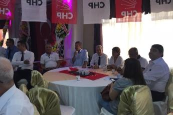 CHP Mezitli İlçe Teşkilatı Danışma Kurulu Toplantısına Katılımımız-2