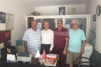 Bahçe Mahallesi Muhtarı Mehmet DANE'yi Ziyaretimiz