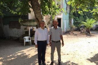 FuatMorel Mahallesi Muhtarı Ali FİDELİ'yi Ziyaretimiz