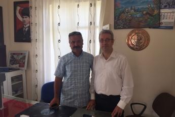 Alsancak Mahallesi Muhtarı Mustafa ATAŞ'ı Ziyaretimiz