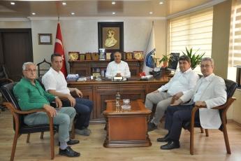 Esnaf ve Sanatkarlar Odası Başkanı Talat DİNÇER'i Ziyaretimiz-1