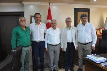 Esnaf ve Sanatkarlar Odası Başkanı Talat DİNÇER'i Ziyaretimiz-2