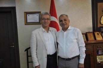 Esnaf ve Sanatkarlar Odası Başkanı Talat DİNÇER'i Ziyaretimiz-3