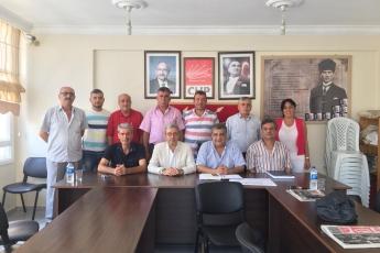 CHP Akdeniz İlçe Teşkilatını Ziyaretimiz-1
