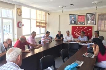 CHP Akdeniz İlçe Teşkilatını Ziyaretimiz-2