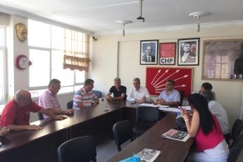 CHP Akdeniz İlçe Teşkilatını Ziyaretimiz-3