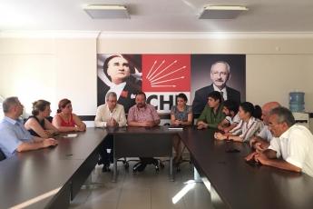 CHP Yenişehir İlçe Teşkilatını Ziyaretimiz-1