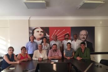 CHP Yenişehir İlçe Teşkilatını Ziyaretimiz-2