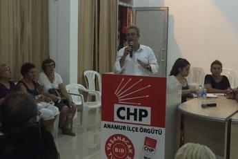 CHP Anamur  İlçe Teşkilatı Danışma Kurulu Toplantısına Katılımımız-3