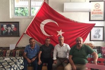 Merkez Mahallesi Muhtarı Mustafa DİNÇ'i Ziyaretimiz