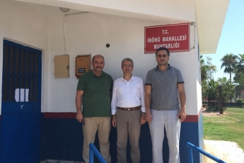 İnönü Mahallesi Muhtarı Adnan GİRAY'ı Ziyaretimiz-1