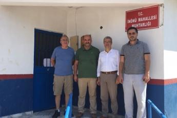 İnönü Mahallesi Muhtarı Adnan GİRAY'ı Ziyaretimiz-2