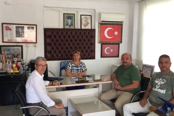 Çiftlikköy Mahallesi Muhtarı Aynur ÖZTÜRK'ü Ziyaretimiz-2