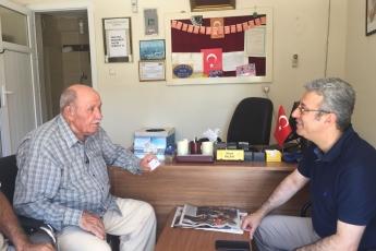 50.Yıl Mahallesi Muhtarı Hasan BALBAY'ı Ziyaretimiz