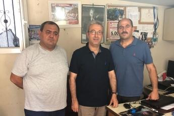 Akdeniz Mahallesi Muhtarı Cengiz DEMİR'i Ziyaretimiz