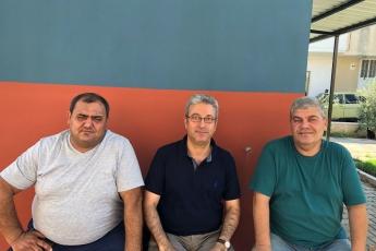 Cumhuriyet Mahallesi Muhtarı İbrahim KOCA'yı Ziyaretimiz