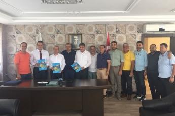 Mersin Yaş Sebze ve Meyve Komisyoncuları Derneği Başkanı Münir ŞEN'i Ziyaretimiz
