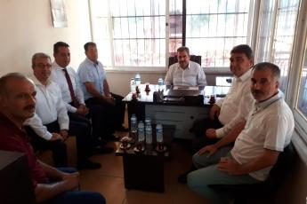 Mersin Hammallar ve Nakliyat Odası Başkanı Hamit AYHAN'ı Ziyaretimiz
