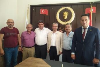 Mersin Gazeteciler Cemiyeti Başkanı Turgay DEMİRTAŞ'ı Ziyaretimiz