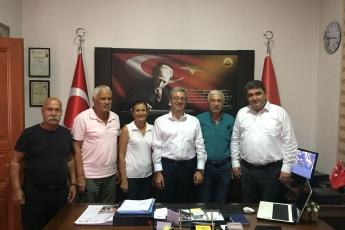 Türkiye Emekliler Derneği Mersin Şubesi Başkanı Cemal AKBUDAK'ı Ziyaretimiz