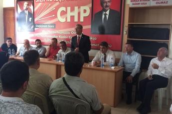 CHP Mersin Silifke İlçe Teşkilatımızda Bayramlaşmamız