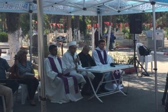 """""""Semavi Dinler Buluşması"""" dua törenine katılımımız-2"""