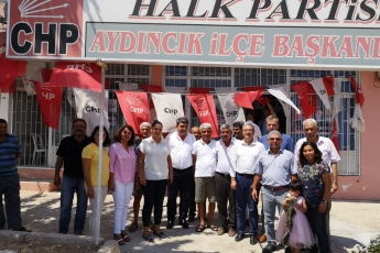 CHP Mersin Aydıncık  İlçe Teşkilatımızda Bayramlaşmamız-2