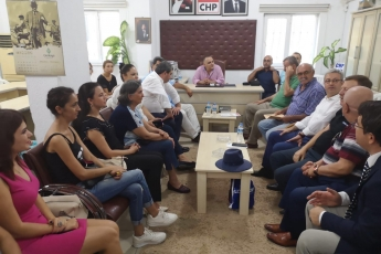 CHP Mersin Anamur  İlçe Teşkilatımızda Bayramlaşmamız-2