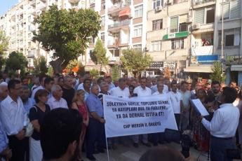 CHP Mersin İl Örgütü ile Özgür Çocuk Parkında Basın Açıklamamız