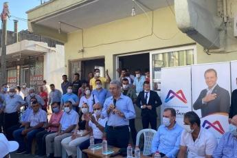 Mersin'in çehresini değiştiren Büyükşehir belediye başkanımız Vahap Seçer ile Karacailyas ve Karaduvar mahallelerimizdeydik. - 1