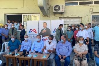 Mersin'in çehresini değiştiren Büyükşehir belediye başkanımız Vahap Seçer ile Karacailyas ve Karaduvar mahallelerimizdeydik. - 2