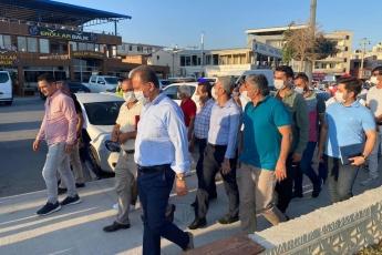 Mersin'in çehresini değiştiren Büyükşehir belediye başkanımız Vahap Seçer ile Karacailyas ve Karaduvar mahallelerimizdeydik. - 3