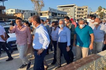Mersin'in çehresini değiştiren Büyükşehir belediye başkanımız Vahap Seçer ile Karacailyas ve Karaduvar mahallelerimizdeydik. -4