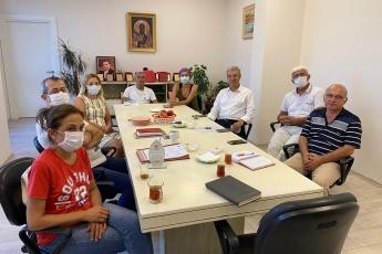 2020-08-04- Mersin Tabip Odası Başkan ve Yönetim Kuruluna hayırlı olsun ziyaretinde bulunduk