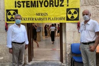 2020-08-06- Mersin Nükleer Karşıtı Platformunun düzenlediği Hiroşima ve Nagazaki'de Yaşanan Nükleer Felaketlerinin Yıl Dönümünde Anma Sergisine katıldık - 2