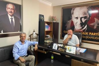 2020-08-11- Yenişehir İlçe Başkanlığımızı ziyaret ettik - 1