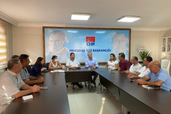 2020-08-11- Yenişehir İlçe Başkanlığımızı ziyaret ettik - 2