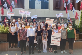 2020-08-12- İstanbul Sözleşmesini savunmak kadına şiddete, tecavüze, cinayete HAYIR demektir - Basın Açıklamasına Katıldık - 3