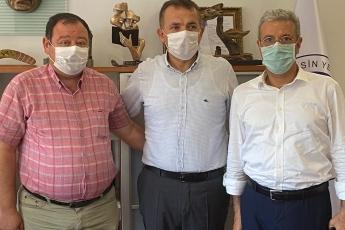 2020-08-12- Yenişehir Belediye Başkanımız Abdullah Özyiğit'i Yenişehir İlçe Başkanımızla birlikte ziyaret ettik