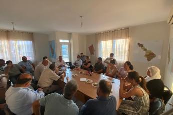 2020-08-13- Erdemli İlçe Başkanlığımızı Ziyaret ettik. Yönetim Kurulu Üyesi partililerimizle görüş alış verişinde bulunduk. - 2
