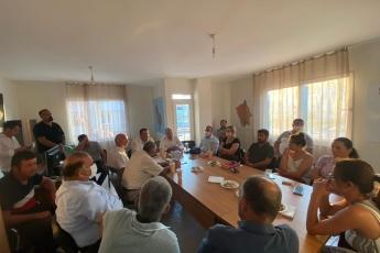 2020-08-13- Erdemli İlçe Başkanlığımızı Ziyaret ettik. Yönetim Kurulu Üyesi partililerimizle görüş alış verişinde bulunduk. - 3