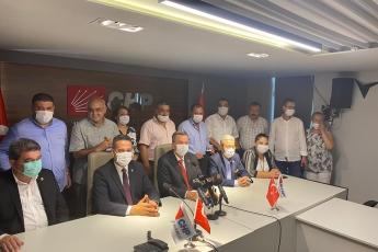 2020-08-14- CHP Parti Meclisi üyesi seçilen Milletvekilimiz Ali Mahir Başarır'ın basın açıklamasına katıldık. - 1