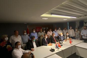 2020-08-14- CHP Parti Meclisi üyesi seçilen Milletvekilimiz Ali Mahir Başarır'ın basın açıklamasına katıldık. - 2