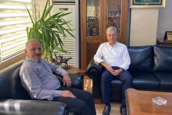 2020-08-17- Mersin Esnaf Ve Sanatkarlar Odaları Birliği Başkanı Sayın Talat Dinçer'i ziyaret ettik. Esnafımızın sorunlarını konuştuk. Partimizin çözüm önerilerini aktardık. - 2