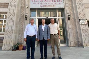 Tarsus Cemevi ziyaretimiz.