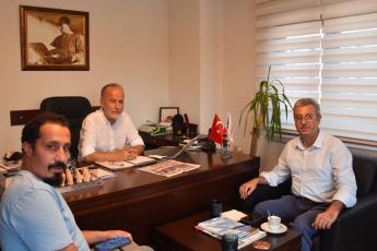 Güney Gazetesi , sevgili Ali  Adalıoğlu ve sevgili Abidin Yağmur'la sohbet.
