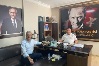 Haftaya  Yenişehir İlçe Başkanımız  sayın Tayar Tahiroglu'nu ziyaret ile başkadık.